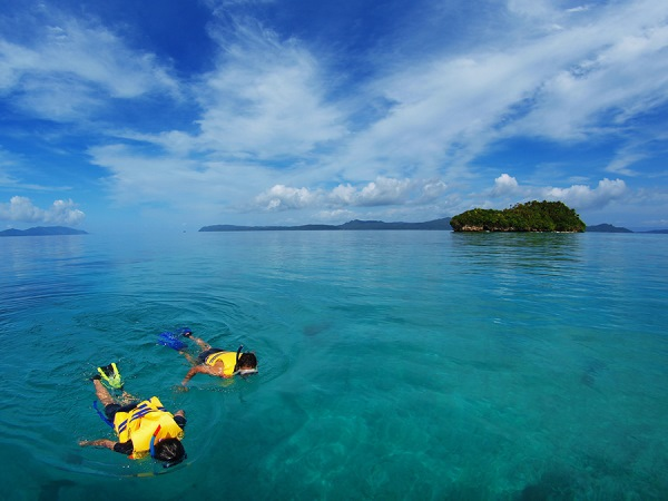 Snorkeling at Raja Ampat...