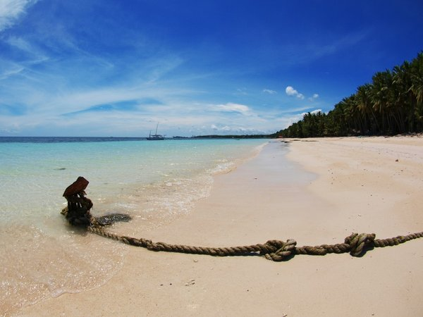 White-soft-sandy Tanjung Bira beach...