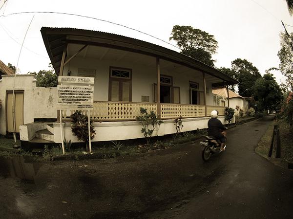 Hatta Exile House at Banda Neira...