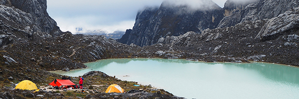 Carstensz Basecamp, 4,330m above sea level..